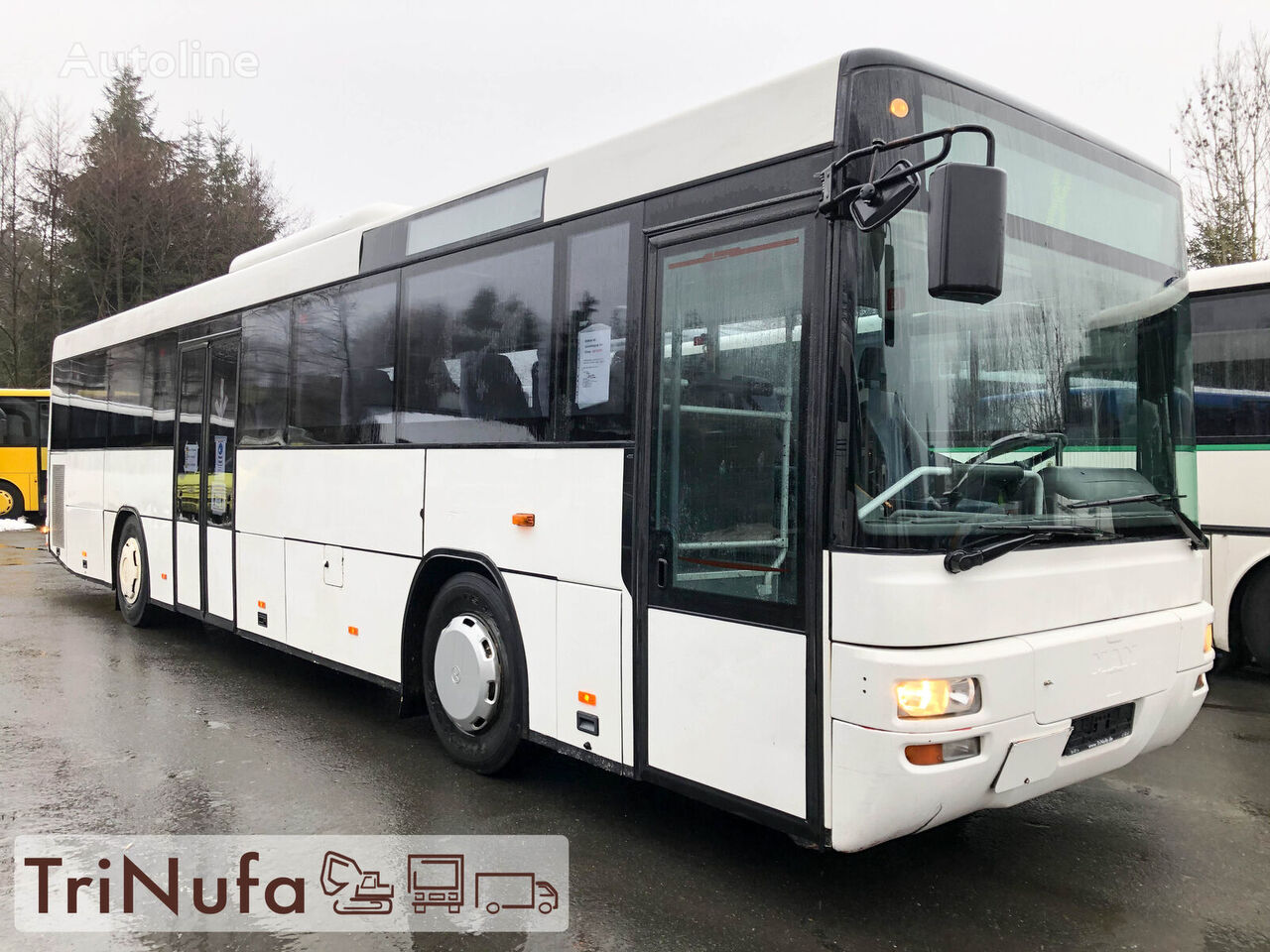 autobuz interurban MAN A 72   Euro 3   Klima   Schaltgtr.   Retarder  